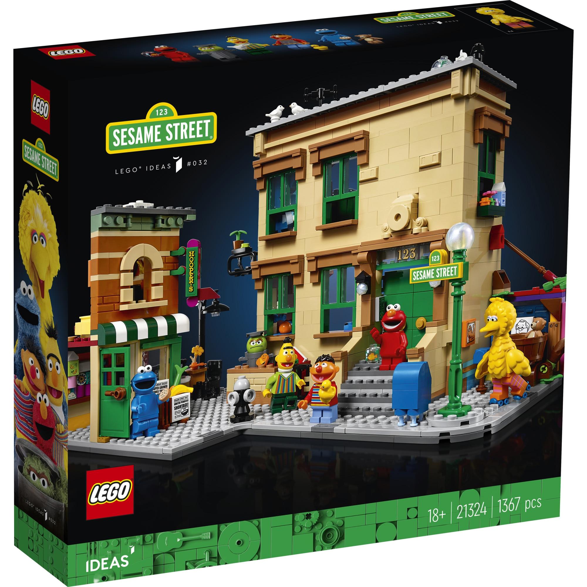 Fotografie LEGO Ideas - Sesame Street 21324, 1367 piese