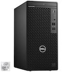 Sistem Desktop PC Dell OptiPlex 3080 MT cu procesor Intel® Core™ i5-10500 pana la 4.50 GHz, Comet Lake, 8GB DDR4, 256GB SSD M.2, DVD-RW, Intel® UHD Graphics 630, Windows 10 Pro