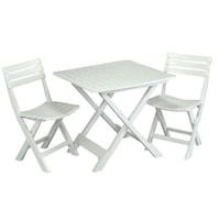 set masa si scaune gradina plastic
