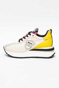 Blauer, Mabel telitalpú sneaker bőrszegélyekkel