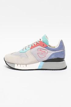 Blauer, Myrtle colorblock sneaker nyersbőr szegélyekkel