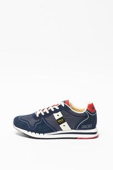 Blauer, Quartz sneaker nyersbőr betétekkel