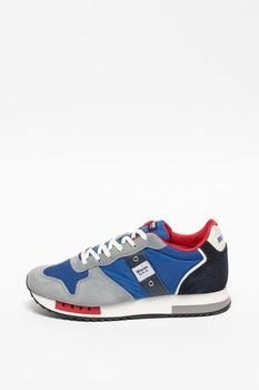 Blauer, Queens colorblock dizájnú sneaker nyersbőr részletekkel