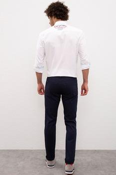 U.S. Polo Assn., Втален панталон по тялото, Тъмносин