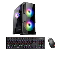 Игрална система SmartPC Helios 500G, Intel Core 9 i9-10900KF Comet Lake, 3.70GHz, 16GB DDR4 RAM, 240GB M.2 NVMe SSD, 2TB SATA HDD, GeForce® RTX 3080 10GB, механична клавиатура, игрална мишка, Windows 10, RGB дизайн