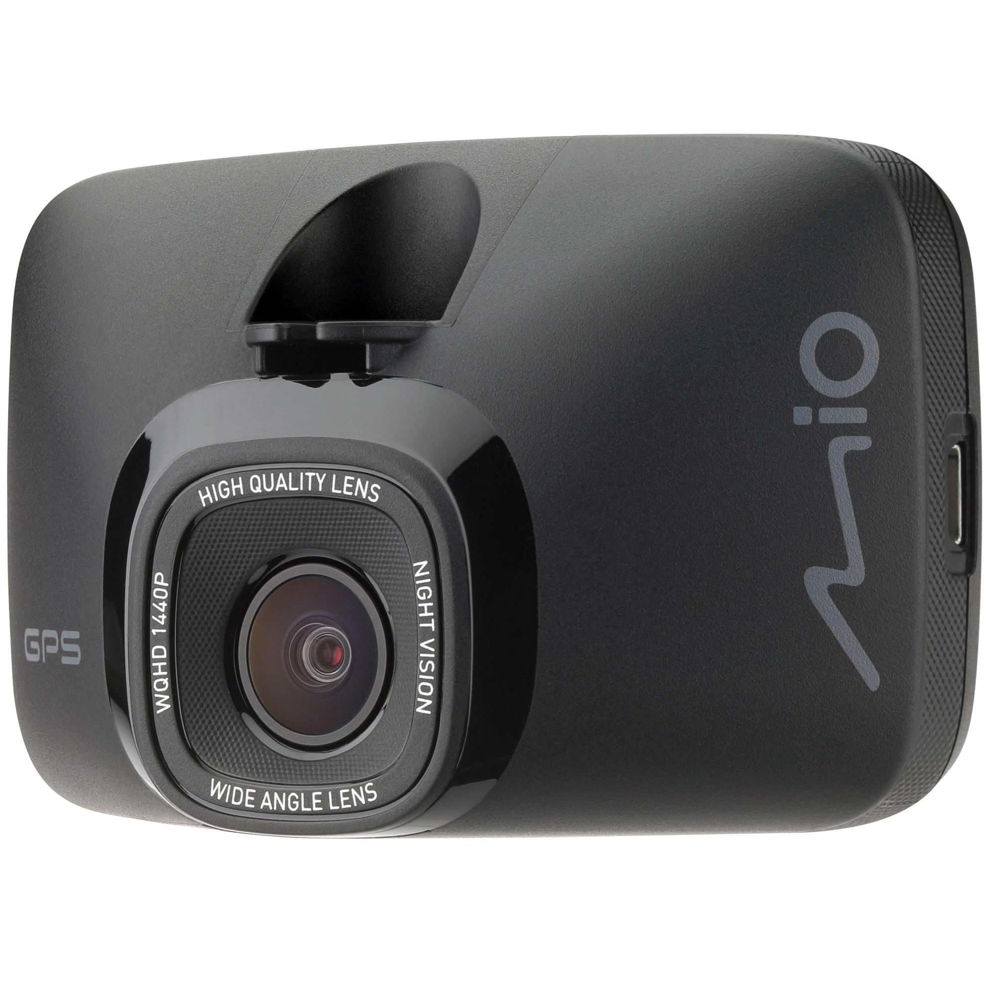 Fotografie Camera video auto MIO MiVue 812, 1440P 2K, 60fps, GPS, unghi vizualizare 140 grade