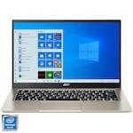 "Лаптоп Ultrabook Acer Swift 1 SF114-33, 14"", Intel® Pentium® Silver N5030, RAM 8GB, SSD 256GB, Intel® UHD Graphics, Microsoft Windows 10 Home, Gold"