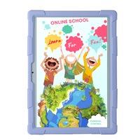 Smart TabbyBoo® EduLearn,Tablet a gyerekeknek,10.1 négymagos, 2 GB-os, DDR3 RAM 32 GB-os ROM, 3G, kettős SIM - Lila