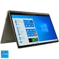 "Laptop ultraportabil Lenovo Yoga 7 14ITL5 cu procesor Intel Core i5-1135G7 pana la 4.20 GHz, 14"", Full HD, 8GB, 512GB SSD, Intel Iris Xe Graphics, Windows 10 Home, Dark Moss"