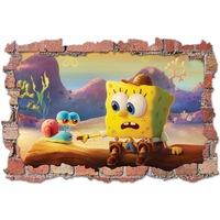 3D Dekorációs falmatrica, SpongeBob 2, 60x90cm