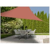 Тента Ambiance, Триъгълна 3x3x3 м, Полиестер, 160 гр/м2, Brick