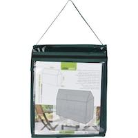 Защитно покривало Progarden, С цип, За люлка 225x145xH175 см, Тъмнозелен