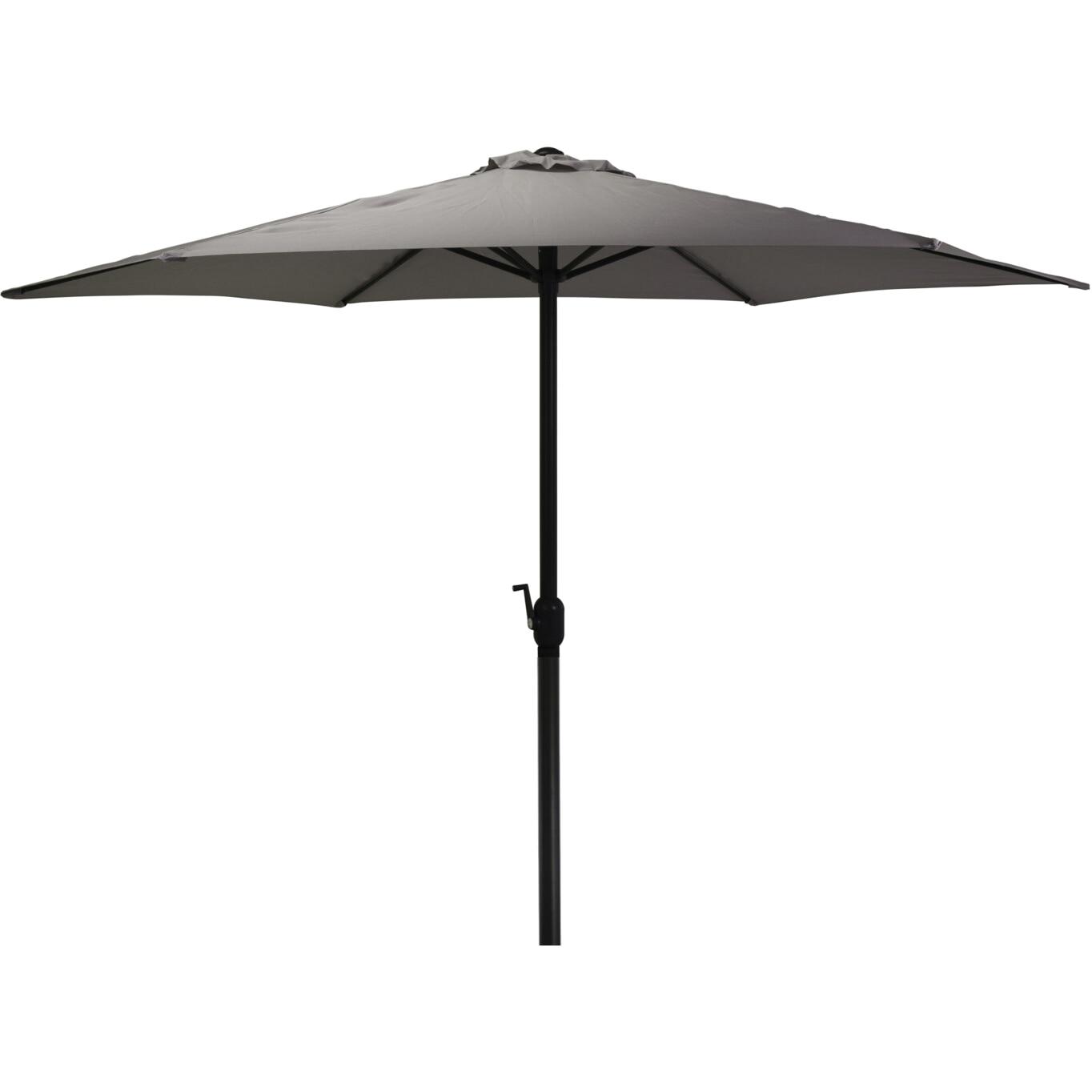 Fotografie Umbrela de gradina/terasa 300cm, poliester 180 g/mp, antracit