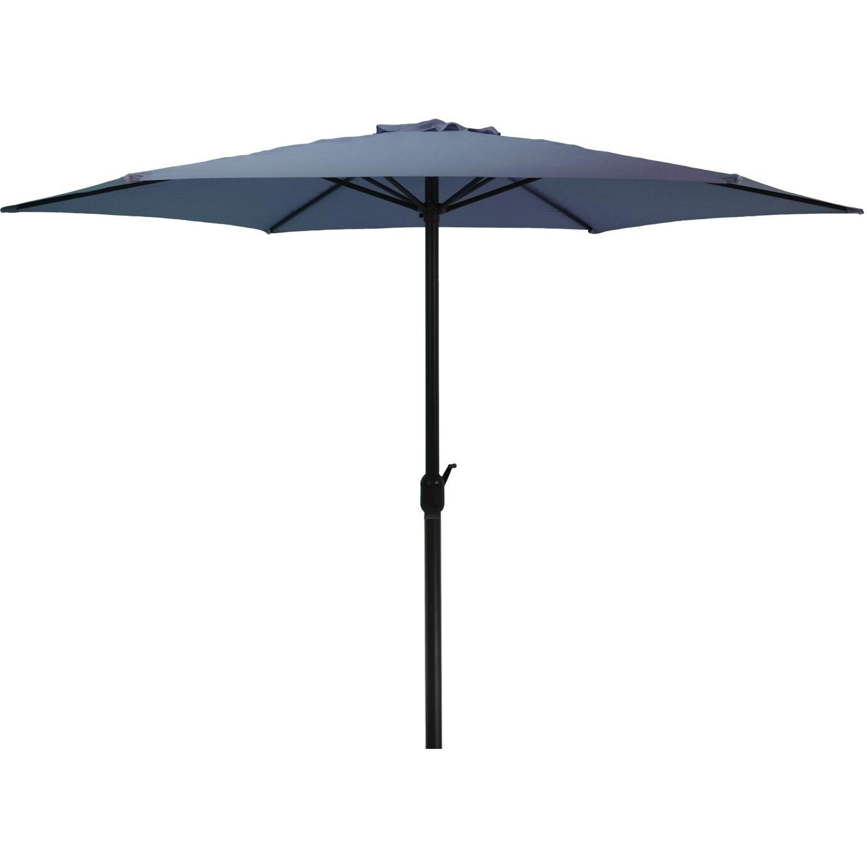 Fotografie Umbrela de gradina/terasa 300cm, poliester 180 g/mp, bleumarin