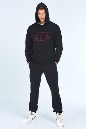 Ecko, Спортен панталон със скосени джобове, Черен