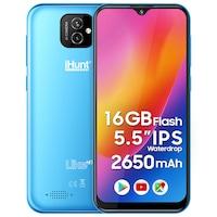 iHunt Like Hi10 Mobiltelefon, 16GB, 5.5-inch IPS, 8MP Kamera, 2650mAh, DualSIM, 3G, Android 10 GO, Világoskék