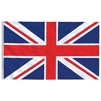 vidaXL brit zászló 90 x 150 cm