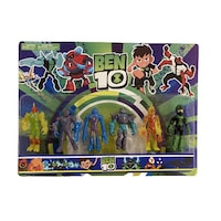 set figurine ben 10