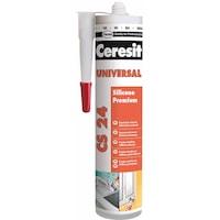 Универсален силикон Ceresit CS 24, 280 мл, Прозрачен
