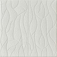 3D öntapadó tapéta, modern absztrakt minta , vízálló, könnyen tisztítható, méretei 70x70cm, R17 modell, fehér