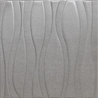 3D öntapadó tapéta, modern kivitelben, vízálló, könnyen tisztítható, méretei 70x70cm, szürke Selling Depot ®