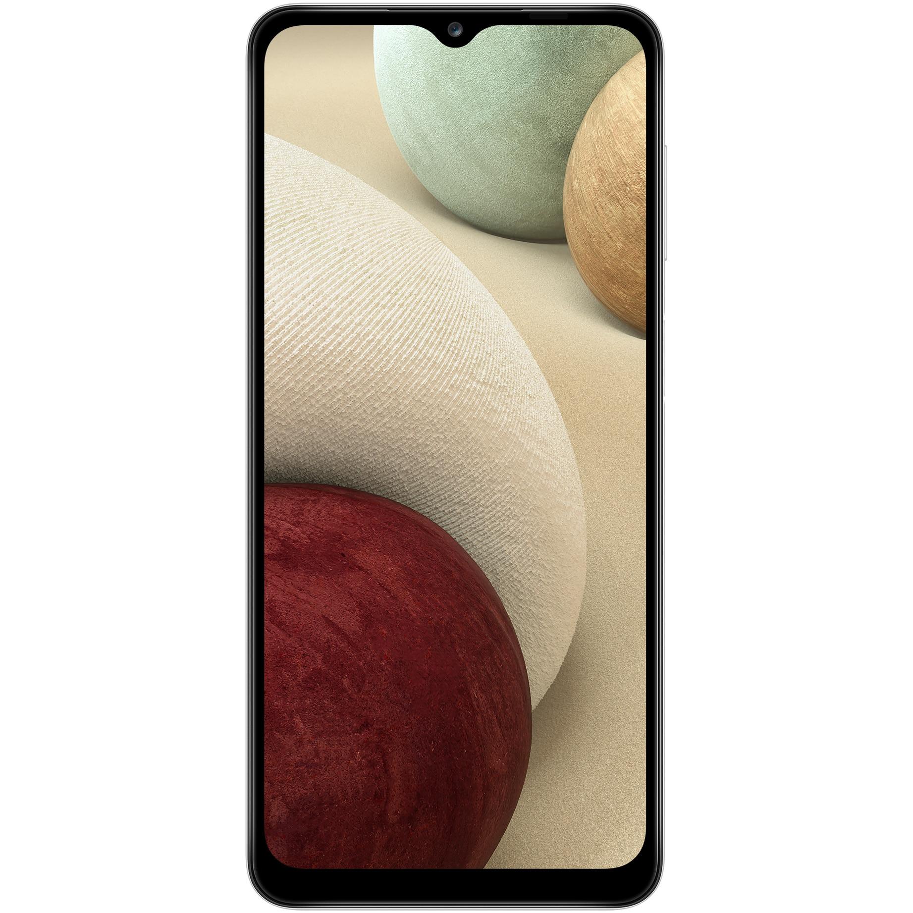 Fotografie Telefon mobil Samsung Galaxy A12, Dual SIM, 4GB RAM, 128GB, 4G, White