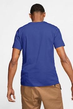 Nike, Tricou cu logo brodat Club, Indigo