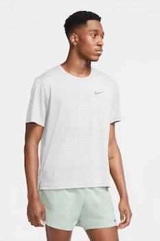Nike, Miler Dri-FIT futópóló fényvisszaverő részlettel, Fehér