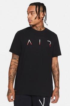 Nike, Tricou cu tehnologie Dri Fit Jordan Jumpman Air, Negru
