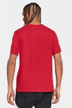 Nike, Tricou cu tehnologie Dri Fit Jordan Jumpman Air, Rosu