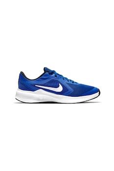 Nike, Обувки Downshifter 10 с контрасти, за бягане, 36.5