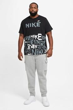 Nike, Tricou cu model logo Sportswear, Negru