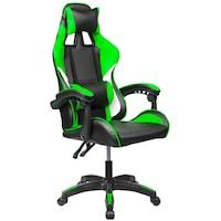 Vigor OC05 kényelmes főnöki gamer szék forgószék dönthető háttámla zöld