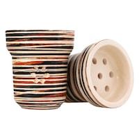 Чашка за Наргиле ММ Solaris Saturn, Кафяв