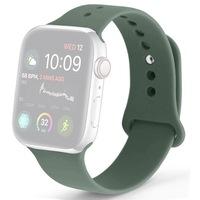 Силиконова каишка Case за Apple Watch 42/44 мм, Зелен