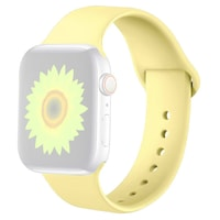 Силиконова каишка Case за Apple Watch 38/40 мм, Жълт