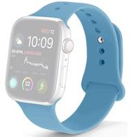 Силиконова каишка Case за Apple Watch 42/44 мм, Син