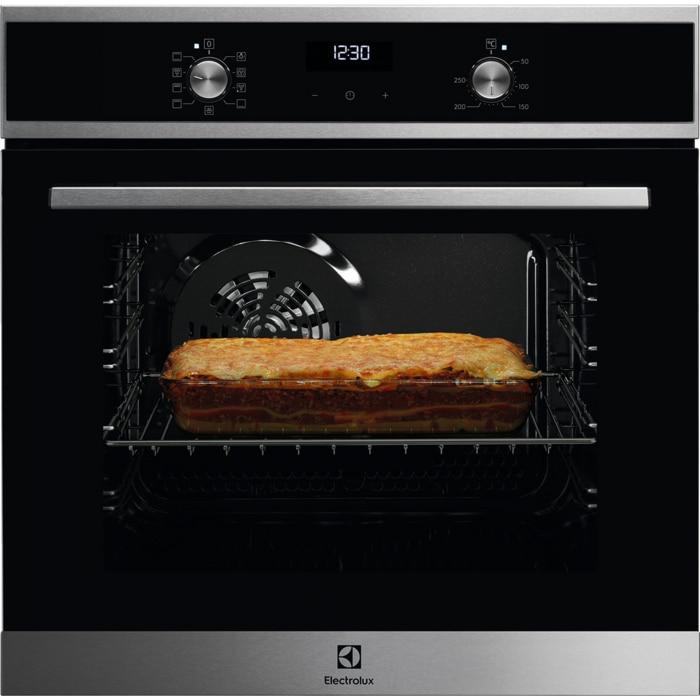 Fotografie Cuptor incorporabil Electrolux EZF5E40X, 57 l, SurroundCook, Even Cooking, Grill, Control Thermotimer, Clasa A, Inox