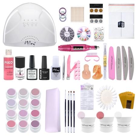Gel UV Color Neon Lila Rossa Professional - Cosmetica Dama