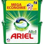Капсули за пране Ariel 3 in 1 Pods Mountain Spring, 70 изпирания