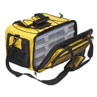Чанта за примамки Berkley POWERBAIT YELLOW - L, Полиестер, Черно/жълт