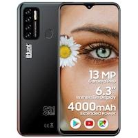 "iHunt S21 Plus 2021 Mobiltelefon, Kártyafüggetlen, 6.3"" képernyő IPS, 2GB RAM, 16GB ROM, DualSIM, Android 10 GO, 4000mAh, Kamera 13MP, Fekete"