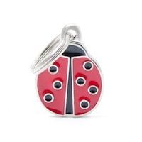 Медальон My Family Lady Bug Charms Red, S