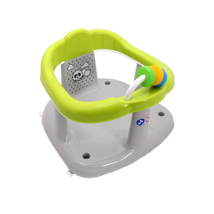 Fotografie Scaun de baie pentru bebe Lorelli Panda Green, antiderapant, Verde