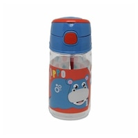 Fisher-Price műanyag kulacs akasztóval 350 ml Hippo