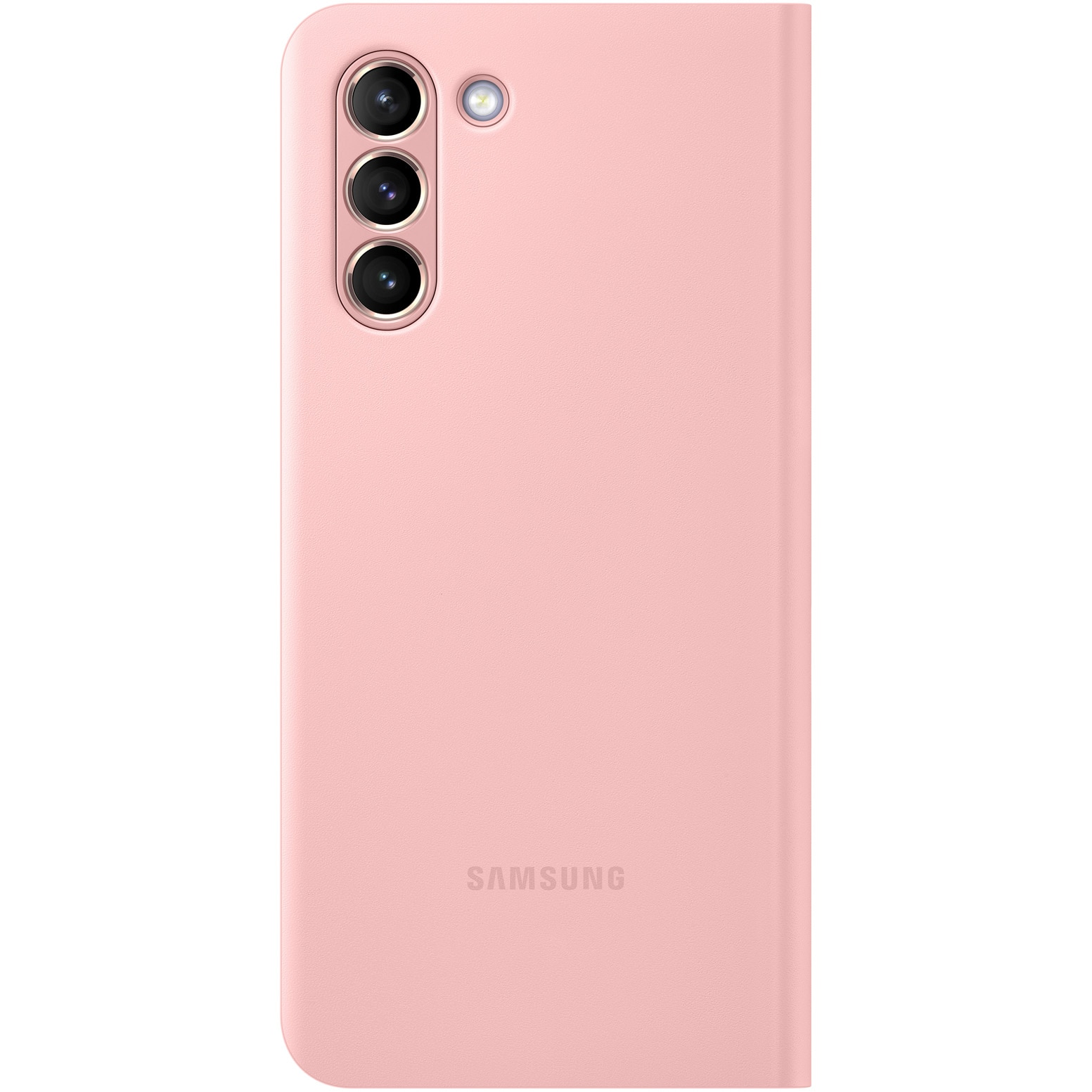Fotografie Husa de protectie Samsung Smart LED View Cover pentru Galaxy S21, Pink