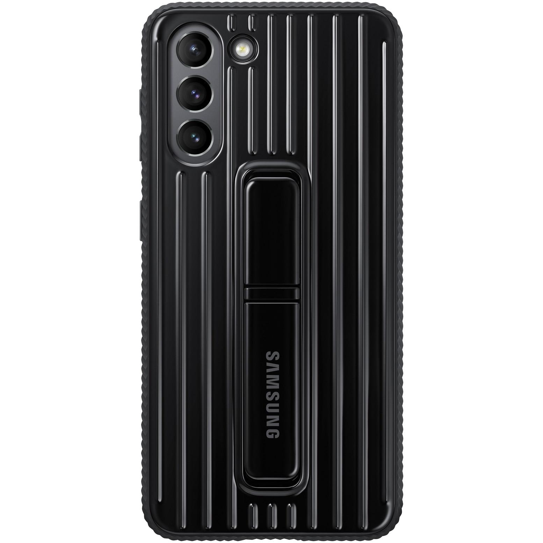 Fotografie Husa de protectie Samsung Protective Standing Cover pentru Galaxy S21, Black