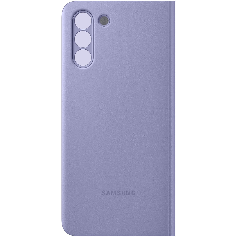 Fotografie Husa de protectie Samsung Smart Clear View Cover pentru Galaxy S21 Plus, Violet