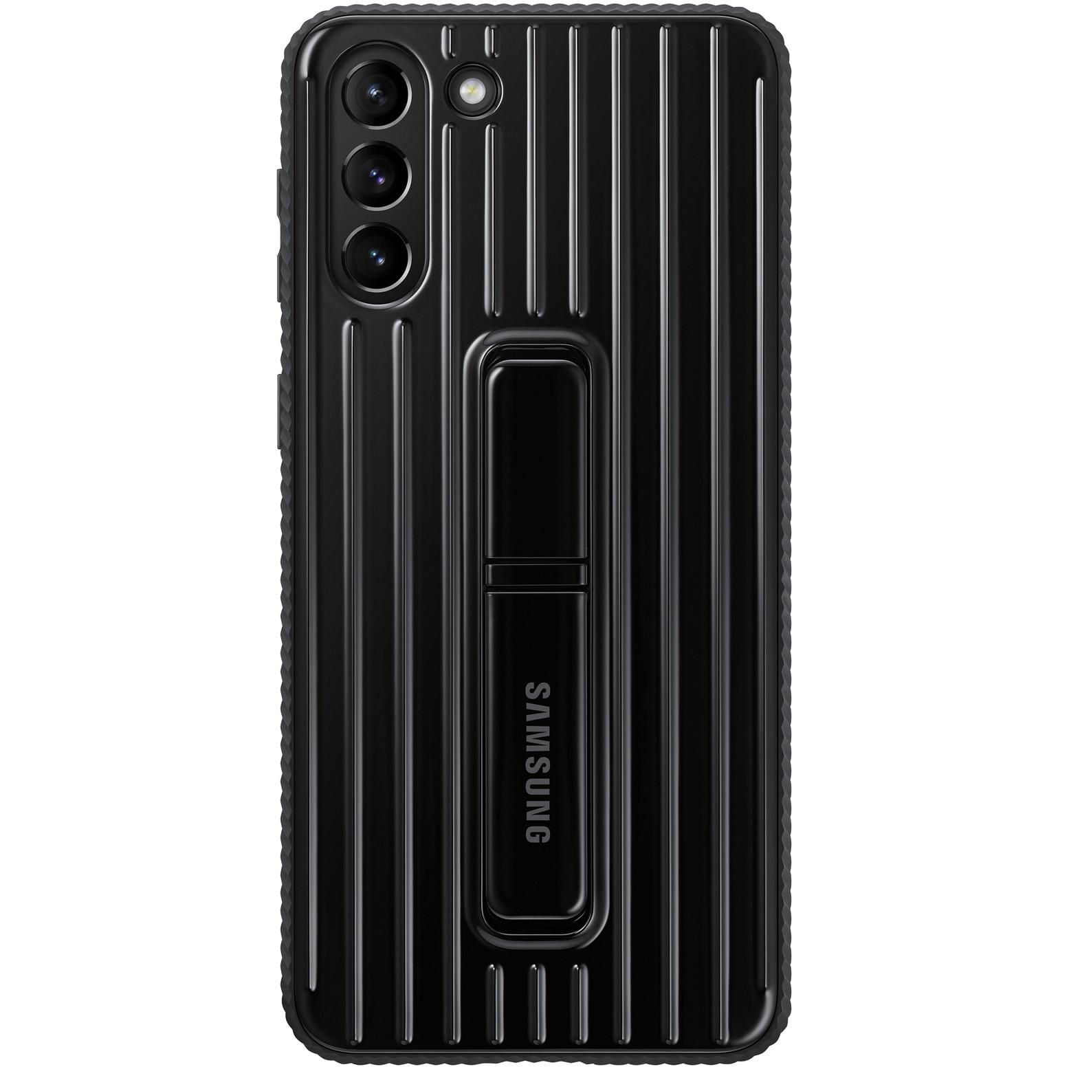Fotografie Husa de protectie Samsung Protective Standing Cover pentru Galaxy S21 Plus, Black