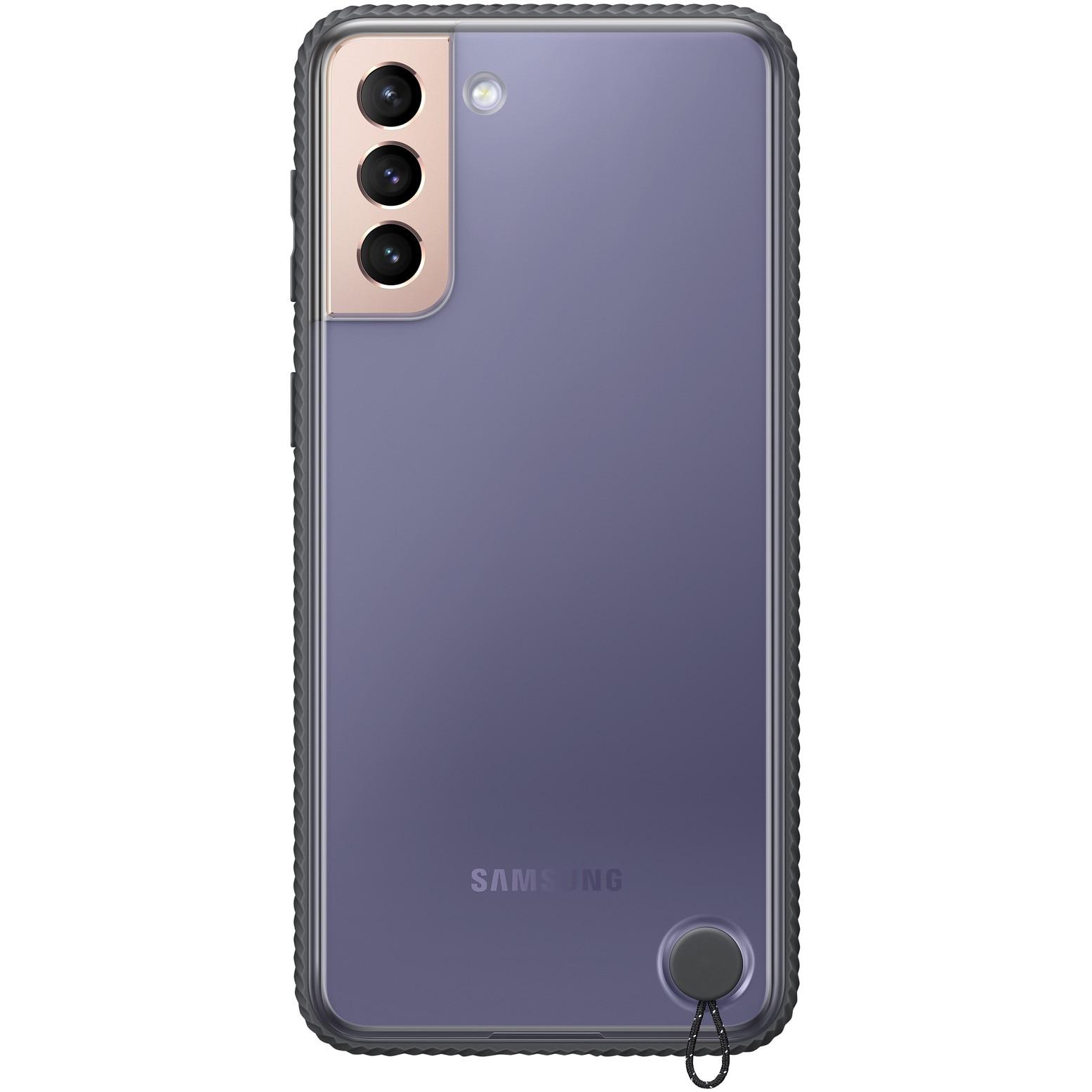 Fotografie Husa de protectie Samsung Clear Protective Cover pentru Galaxy S21 Plus, Black